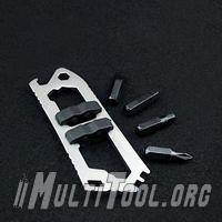 12 In 1 Survival Stainless Steel Screwdriver Wrench Opener EDC Pocket Multi Tool