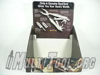 BuckTool Cardboard Display Stand