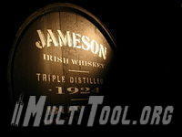 barrel of jameson whiskey by igs